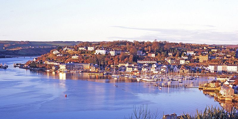 Morning view of Kinsale