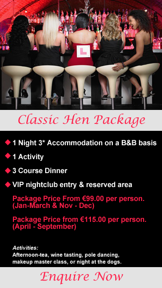 Classic Cork Hen Party Package