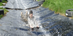 Water Slide at West Cork Secret Garden