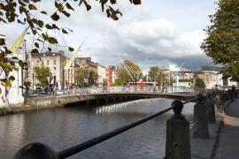 Cork City Bridge View
