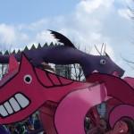 Saint Patrick's Day Parade 2015 Dragons