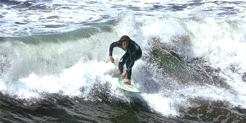 Surfing in Cork