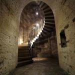 Granite Spiral Stairway - Camden Fort Meagher