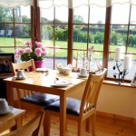 Boherash Country House Bed and Breakfast Breakfast Views