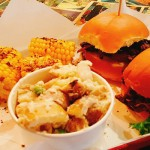 White Rabbit Bar & BBQ with sides